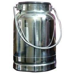 Stainless Steel Milk Pails 2